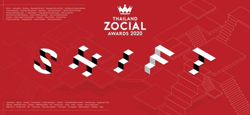 Thailand Zocial Awards 2020
